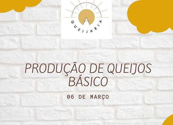 PRODUÇÃO DE QUEIJOS - BÁSICO