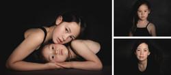 Geschwisterfotos in Collage