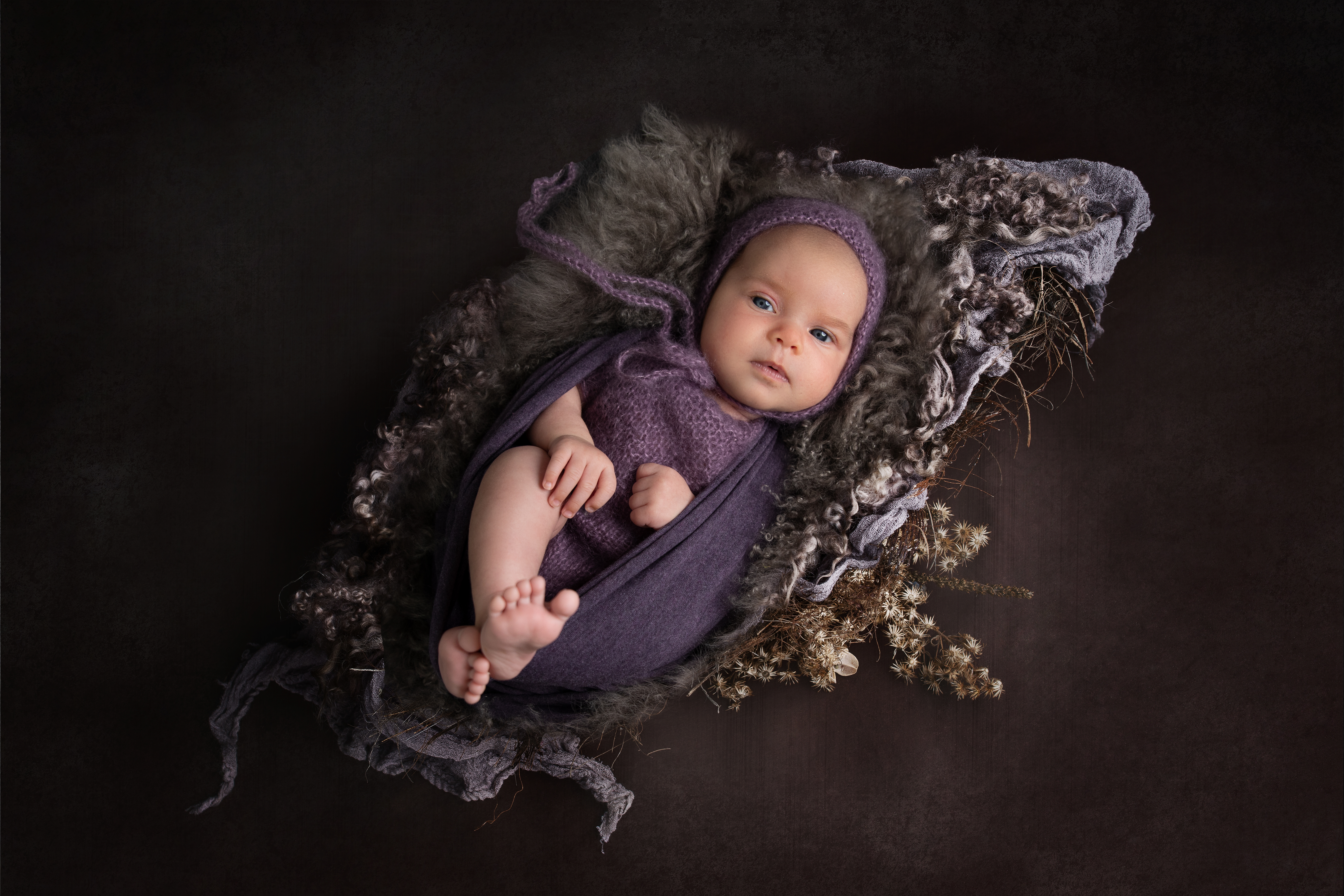 Neugeborenes Baby aus München