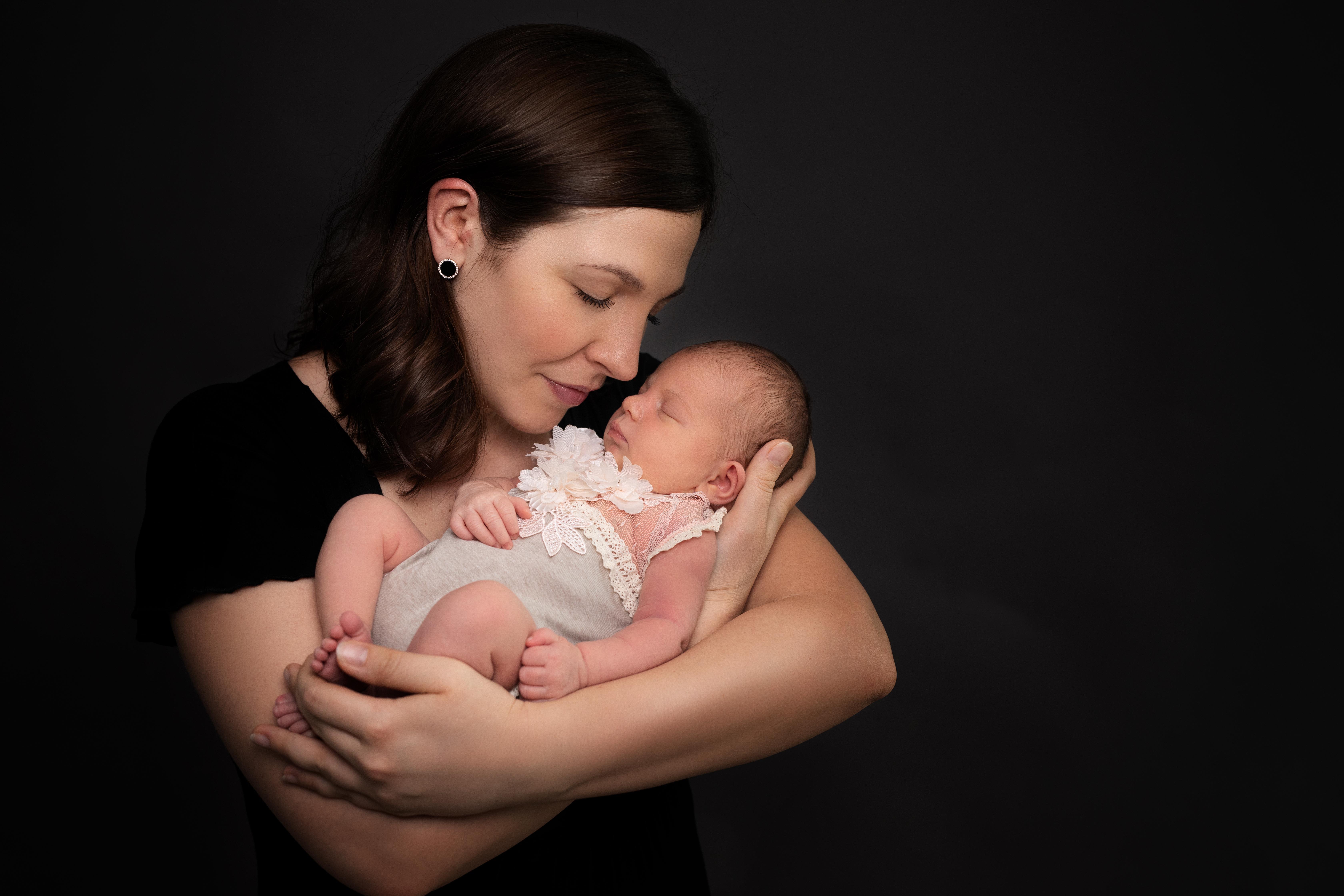 Newborn Foto Mami und ich Ingolstadt