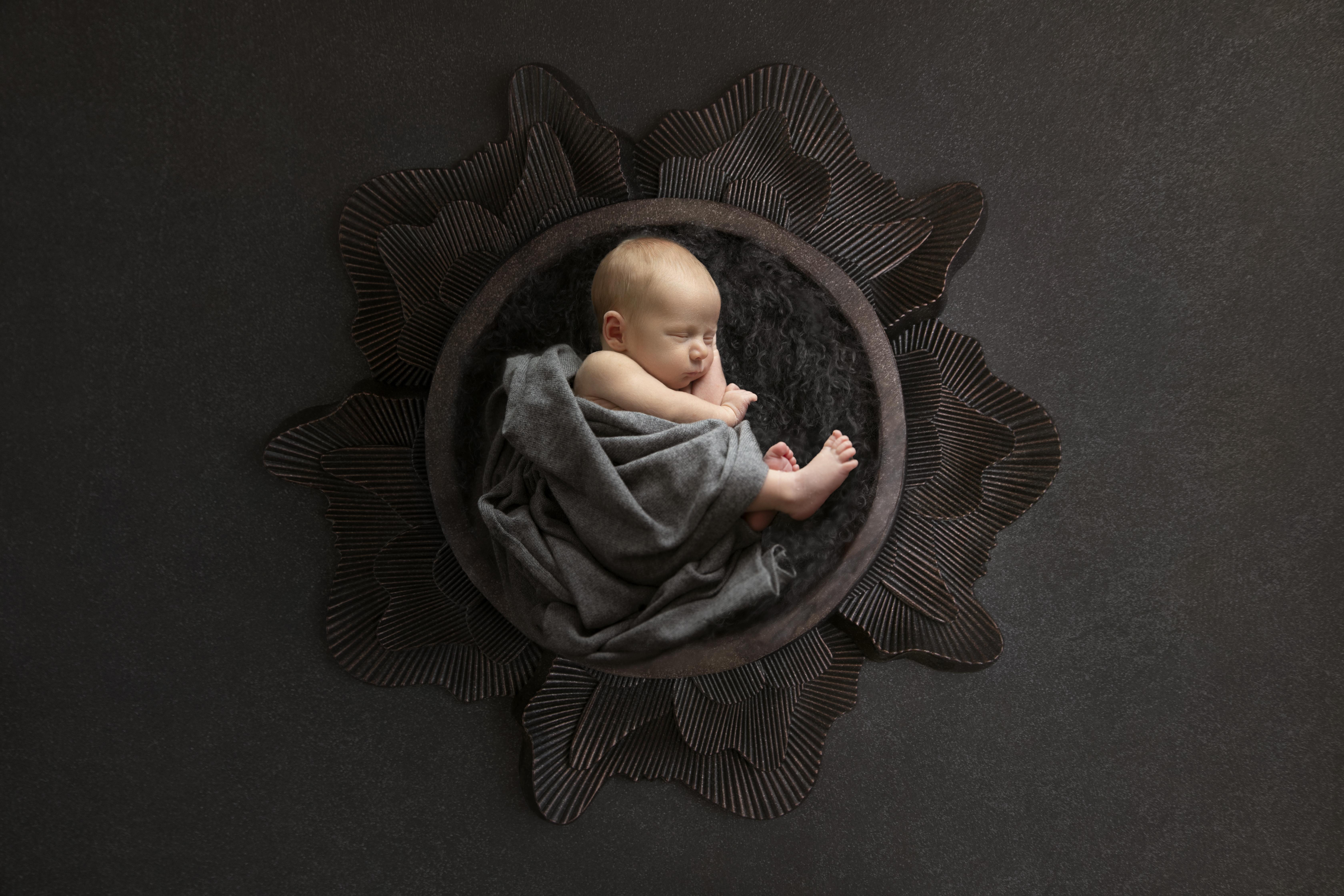 Fotoshootings mit Neugeborenen Baby