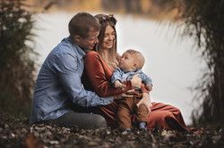 Familienfoto am See Ingolstadt