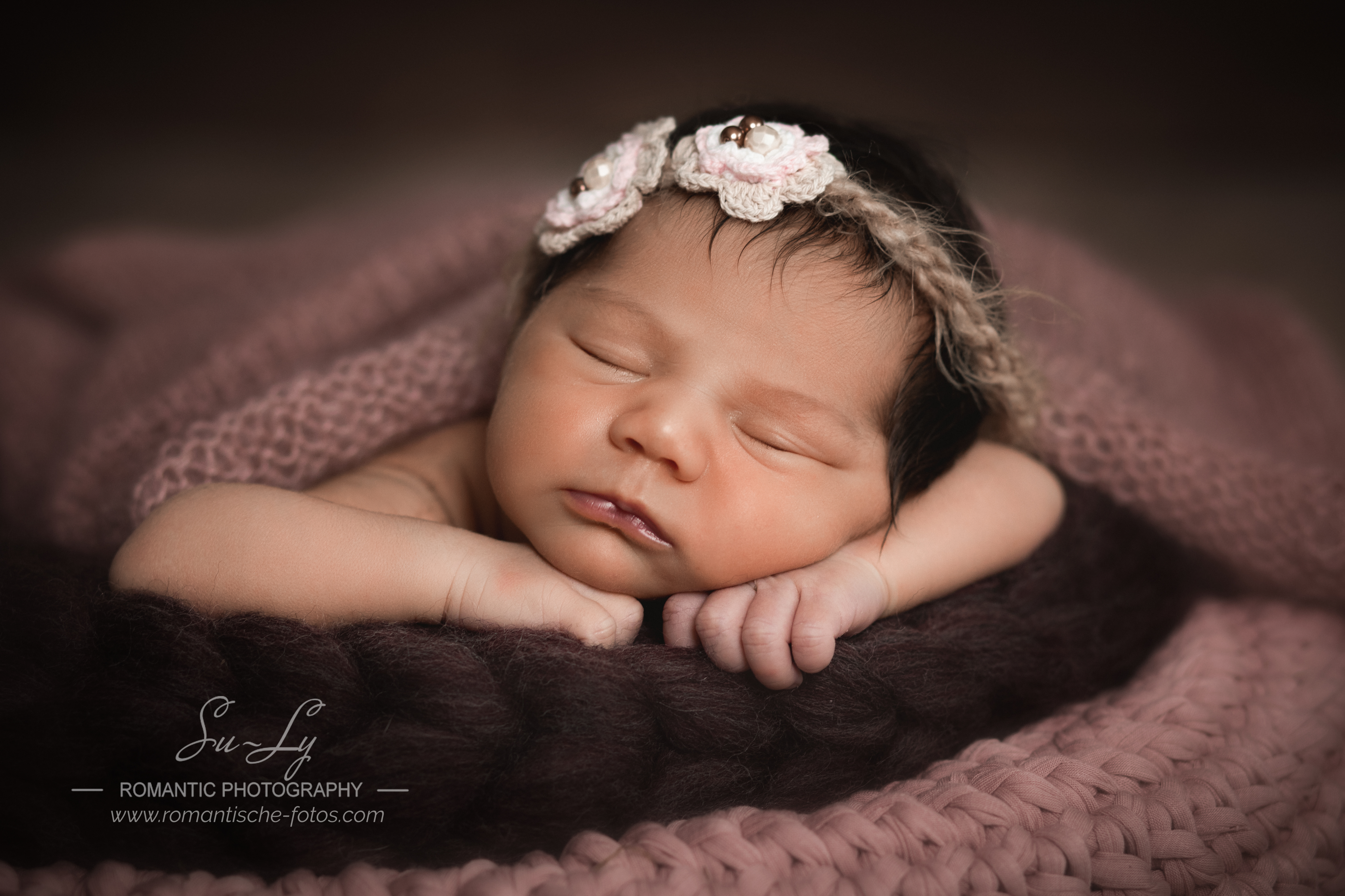 träumendes Baby