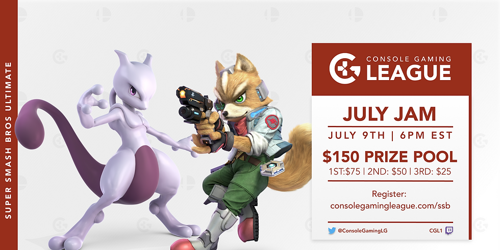 Smash Bros Ultimate July Jam