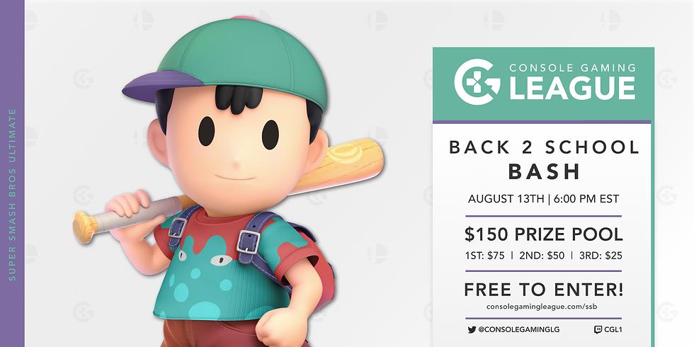 Smash Bros Ultimate | Back 2 School Bash