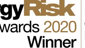 ENTRADE® wins Energy Risk's 2020 Asia Award