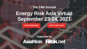 23-24 September 2021: Energy Risk Asia Virtual event