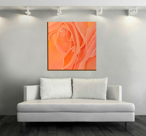 Stacey Wells art  Rose