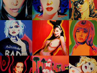 Stacey Wells. Queen Of Pop art an Interview with Women's International Music Network.Celebrating