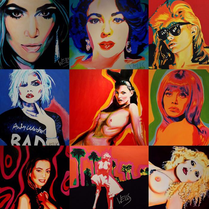 Stacey Wells. Queen Of Pop art an Interview with Women's International Music Network.Celebrating