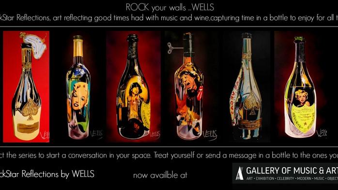 99 Bottles of WELLS wine on the wall  Las Vegas