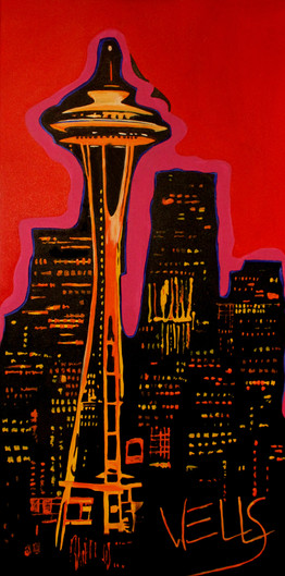Nirvana Space Needle pop art final.jpg