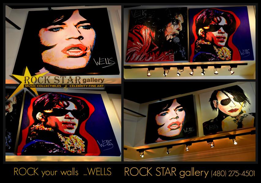 Stacey ells ROCKS  ROCK STAR gallery