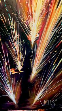 Stacey Wells art Celebration