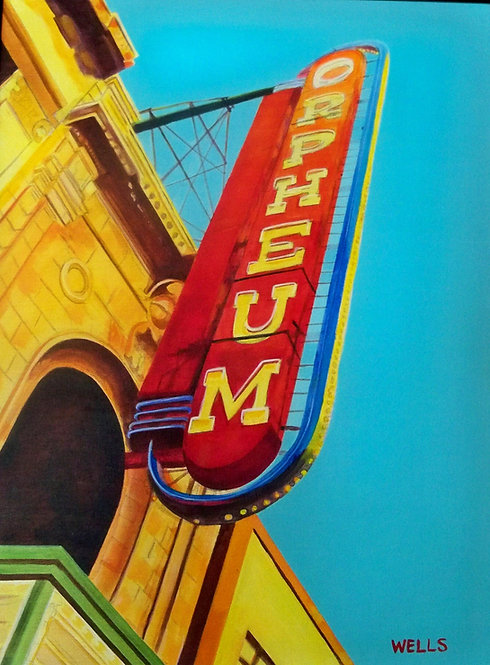 The Orpheum |Stacey Wells | Iconic Building