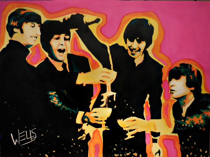 ROCK your Walls .. check  out the selection of WELLS art at Rock Star Gallery in Scottsdale , Arizon