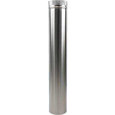 Stainless Steel 1m Flute