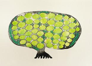 豊作を願うライムの木