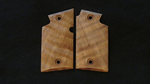 Sig Sauer p938 Curly White Oak grips #232