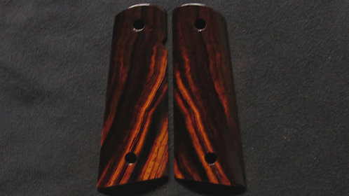 1911 Full Size Cocobolo Magwell Grips #8