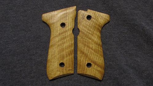 Beretta 92FS Curly White Oak grips #1