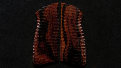 Browning Hi Power Cocobolo Full Checkered grips #11