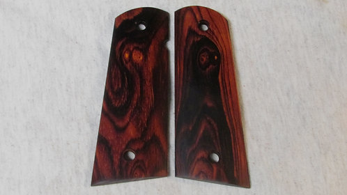 1911 Full Size Cocobolo Magwell Grips #62