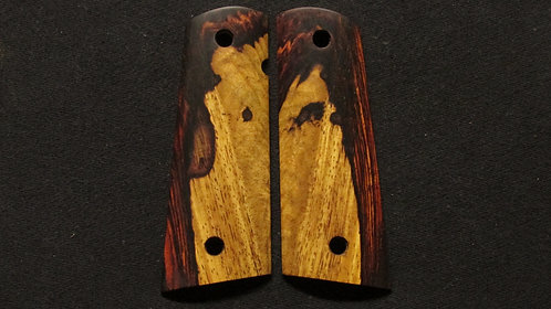 1911 Full Size Cocobolo Magwell grips #36