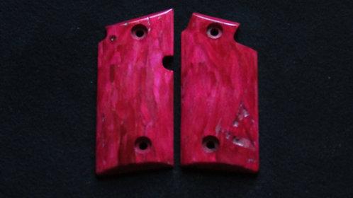 Sig Sauer p238 Carpenters Burl Grips #56