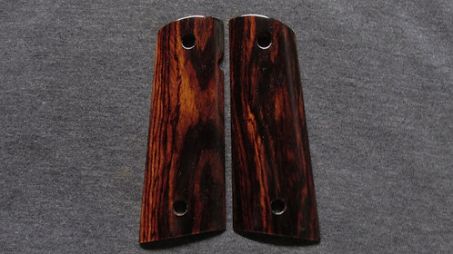 1911 Full Size Cocobolo Magwell Grips #24