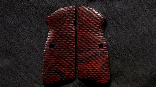 Browning Hi Power Full Checkered Cocobolo grips #6
