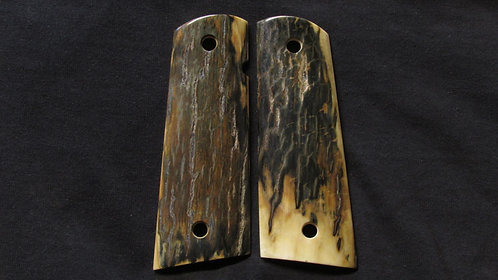 Full Size 1911 Mammoth Ivory Magwell grips #5