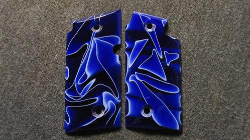 Sig Sauer p238 Custom Cast Resin Grips #9