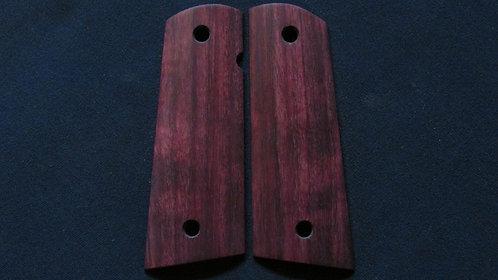1911 Full Size Purpleheart Magwell grips #228