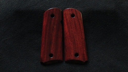 1911c  Compact Mahogany Grips #22