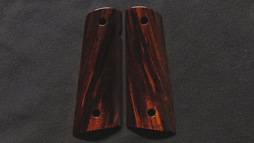 1911 Full Size Cocobolo Magwell Grips #5