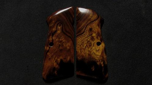Browning Hi Power Ironwood Burl grips #8