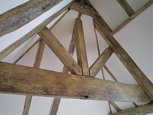 Faux Woodgrained Oak Beams.jpg