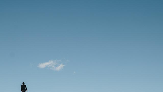 Cabeça na nuvem