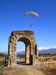 Do some paragliding with amazing views, either nature or historics