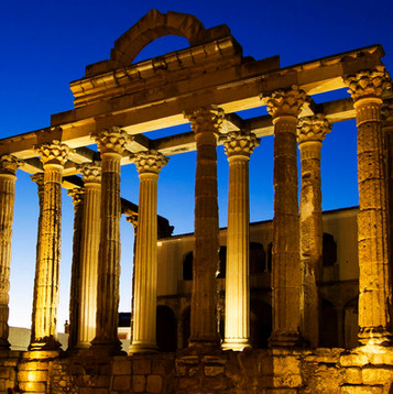 Get inmerse in roman culture visiting world heritage monuments and enjoy classical plays in roman theaters that remains intact