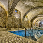 Relax and pamper yourself in romans therms