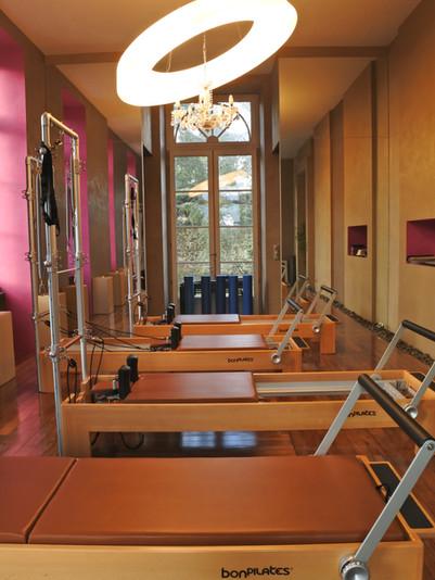 Atelier Pilates reformers.JPG