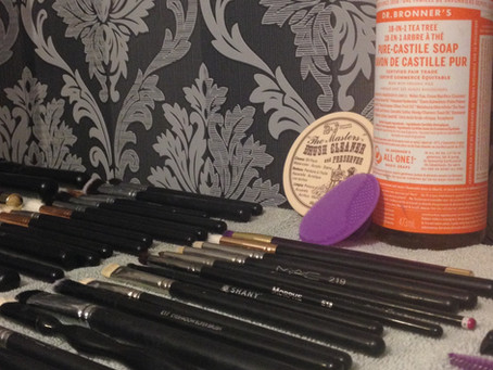 Cleaning and Caring for Brushes
