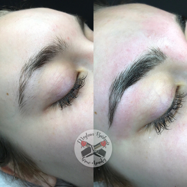 brow shaping tint wax waxing guelph