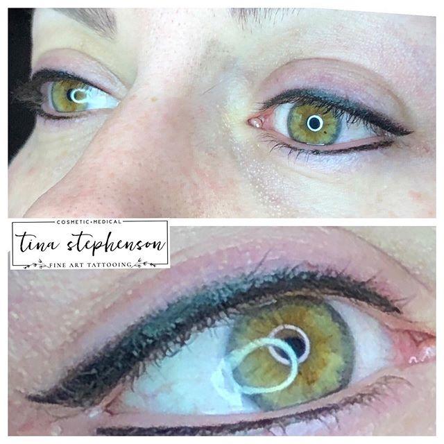 🖤CLASSIC🖤 #eyelinertattoo