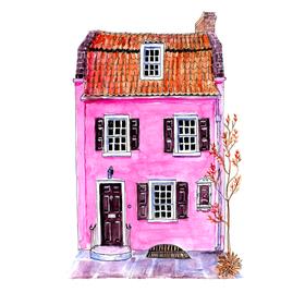 PINK HOUSE Charleston, USA