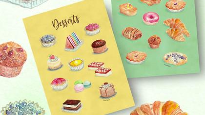 Passion for Food Illustration