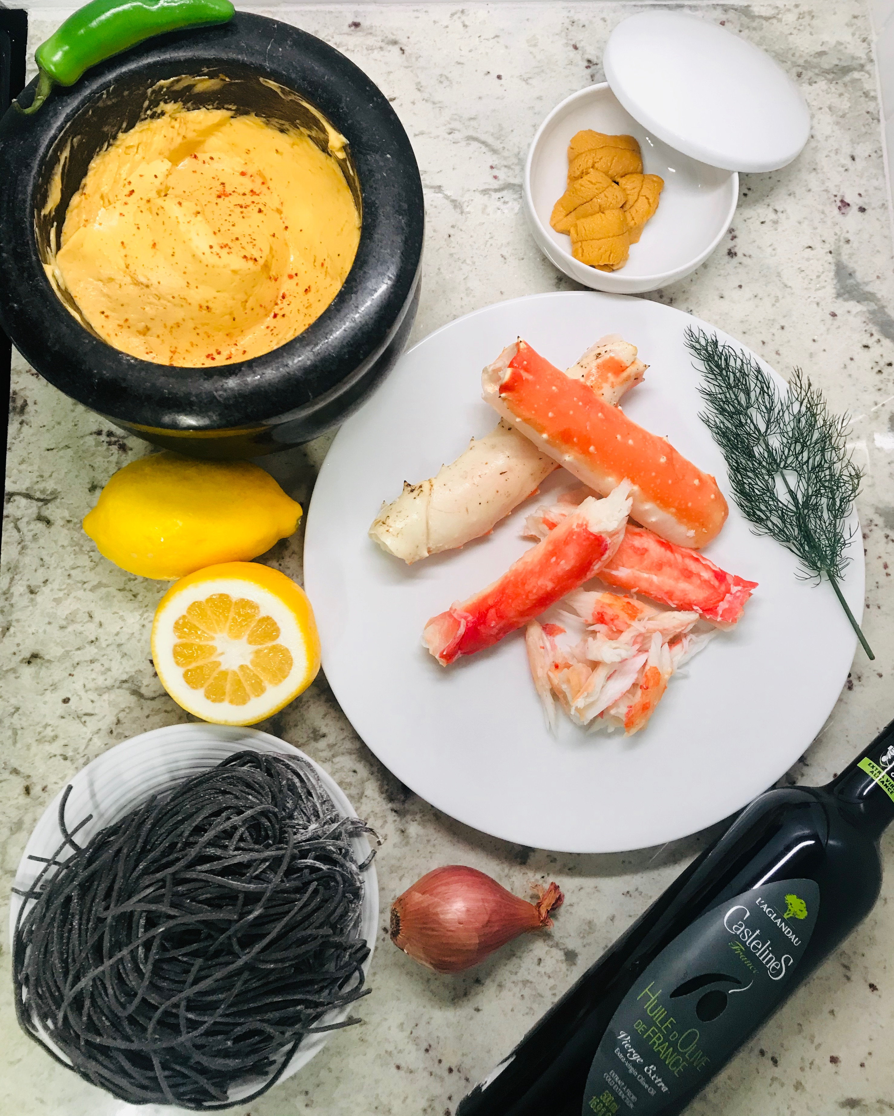 King Crab Pasta Meal Kit for Two