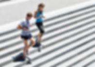 Running Down Stairs